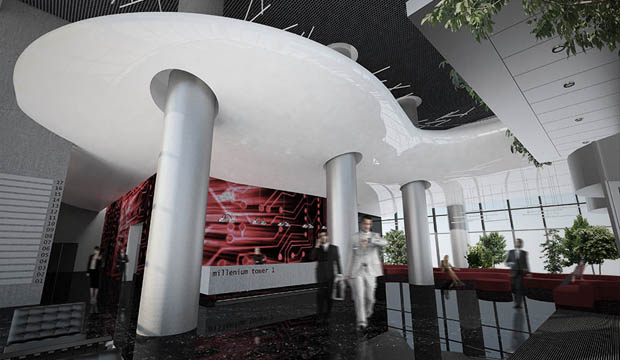 Millenium tower 1 - entrance lobby
